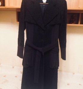 Пальто женское легкое дизайнерское