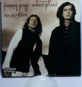 СD и DVD Jimmy Page & Robert Plant
