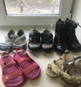 Продаётся обувь для девочки 29размер