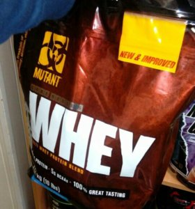 Сывороточный протеин Мутант 4,5 кг