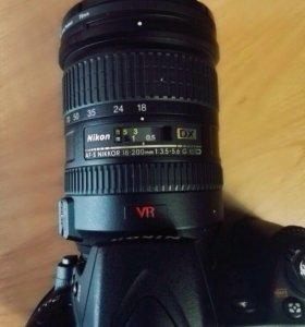 Продам Nikon D90 и объектив AF-S Nikkor18-200mm