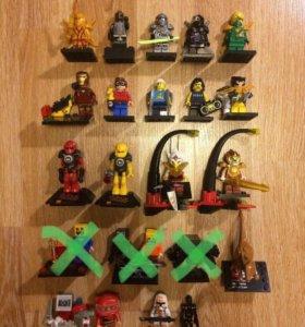 Лего мини фигурки