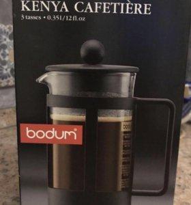 Кофейник Bodum🇨🇭с прессом Kenya 0,35л + Подарок