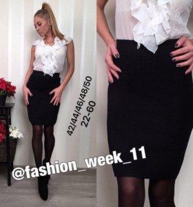 Новая юбка размер 46-48 черная
