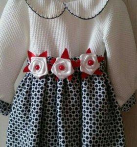 Шикарное платье для маленькой принцессы!Вшитый под