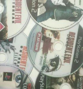 SonyPlaystatin 2 Resident Evil коллекция