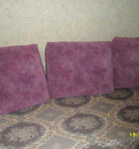 Подушки от дивана.