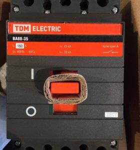 Автоматический выключатель ва88-35 3Р 160А