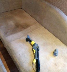 Химчистка мягкой мебели, ковров, матрасов в барнау