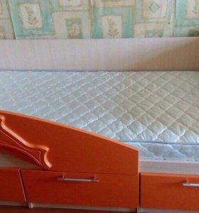 Кроватки с бортиком