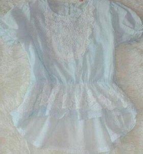 Воздушная легкая блузка (98-104)