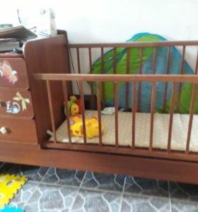 Кровать детская от 0 до 12 лет