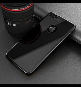 Стекло, чехол для iPhone 6s plus
