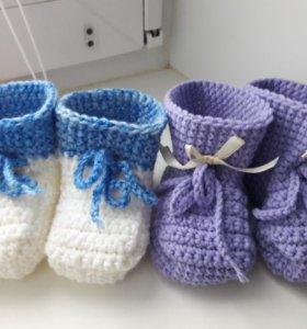 Пинетки-ботиночки новые