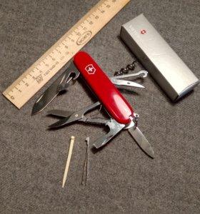 Нож Victorinox HUNTSMAN ,15 функций,91 мм.