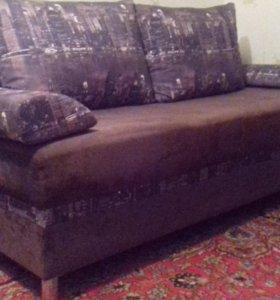 диван на пружинном блоке