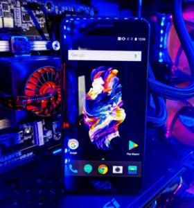 OnePlus 5 8gb/128gb + 4 чехла и стекло