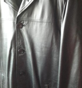 Новая кожаная куртка мужская