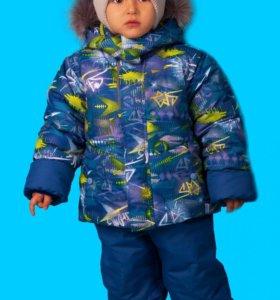 Новый зимний костюм мембранный размеры 98-122