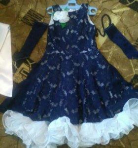 Платье р-р 105-120см