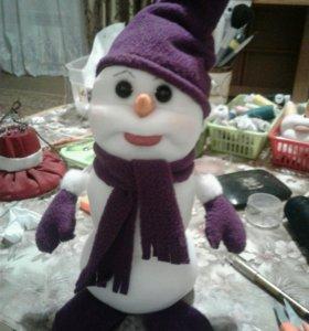 Снеговик. Новый год