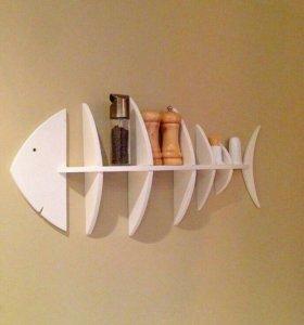 Полка рыба для кухни