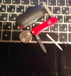 Нож-брелок victorinox Escort, 58 мм, 6 функций