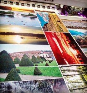 Печать баннеров, пленки, наклейки