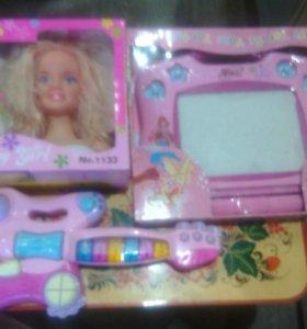 Три игрушки для девочки