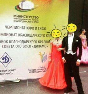 Платье для  бальных танцев стандарт молодежь