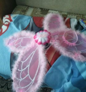 Комплект крылья и ободок