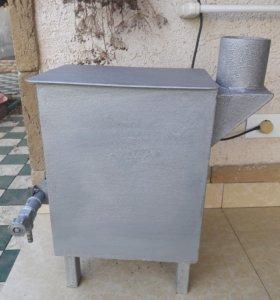 Газовая печка буржуйка