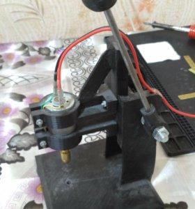 Мини электродрель для плат и микросхем