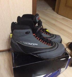 Ботинки лыжные 41р. Tecno pro