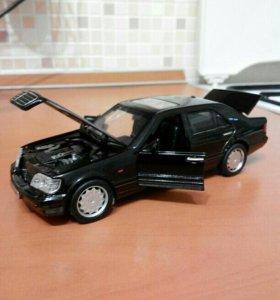 Новая игрушка Mercedes Benz w140