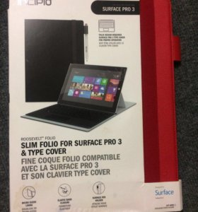 Чехол для Surface Pro 3 красный новый