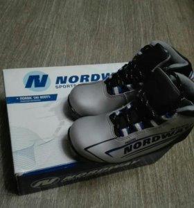 Детские лыжные ботинки NNN