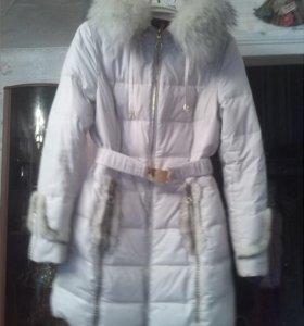 Зимний пуховик,один сезон