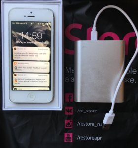 iPhone 5 64gb(Power Bank 🎁)