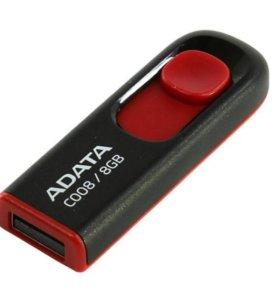 A-Data C008 Classic Black-Red 8Gb