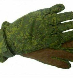 Зимний перчатки цифра