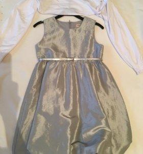 Нарядное платье на 128