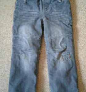 Зимние джинсы пеликан на рост 110