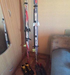 Спорт товар(Лыжи)