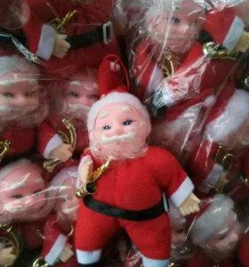 Гномы новогодние игрушки 300 шт