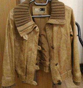 Новая кожаная куртка натуральная кожа