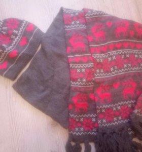 Шапка шарфик ostin