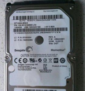 Жесткий диск на ноутбук 1000gb sata