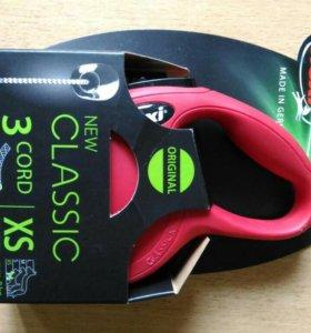 Рулетка FLEXI New CLASSIC XS трос 3м, 8 кг