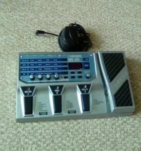 Гитарный процессор boss me-20
